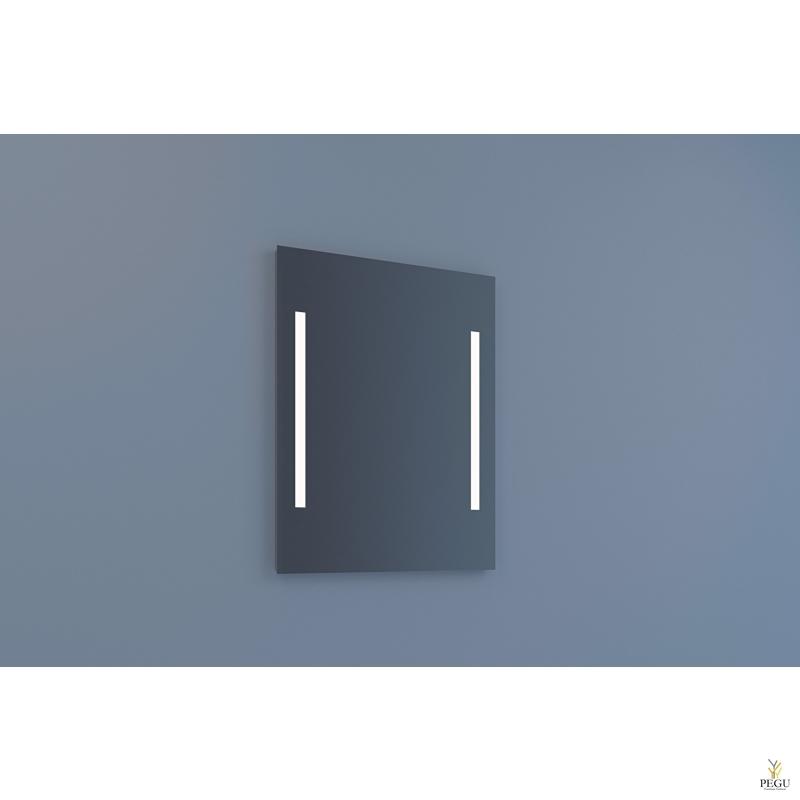 Eumar зеркало Due 60x80 с LED подсветкой