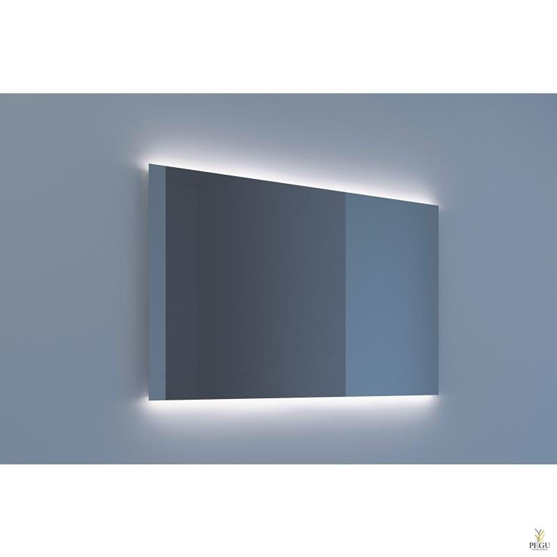 Eumar peegel Ambi Due 120x80 LED valgustusega