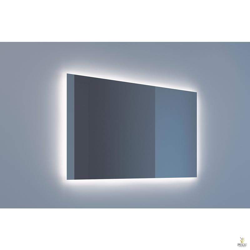 Eumar peegel Ambi Quatro 120x80 LED valgustusega