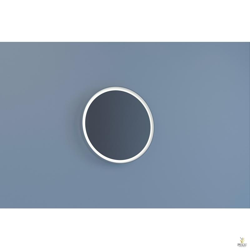 Eumar peegel Tondo 61 CreaCore LED valgustusega