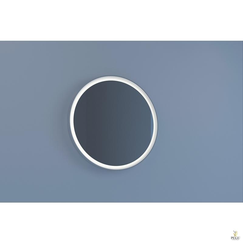 Eumar peegel Tondo 80 CreaCore LED valgustusega