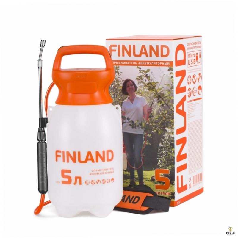 Садовый опрыскиватель с аккомулятором 1937 Finland 5L