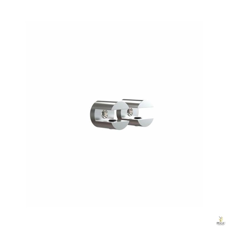Frost riiuli klamber d25mm SHELF CLAMP 2 tk NOVA harjatud