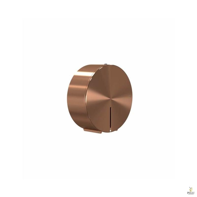 Frost дозатор для туалетной бумаги большой d310 Н/Р сталь матовая медь