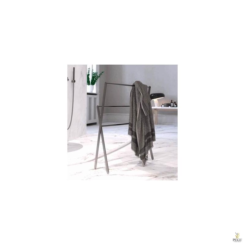 Вешалка для полотенца X-mudel TOWEL STAND 1977 напольная Frost NOVA2 матовый чёрный