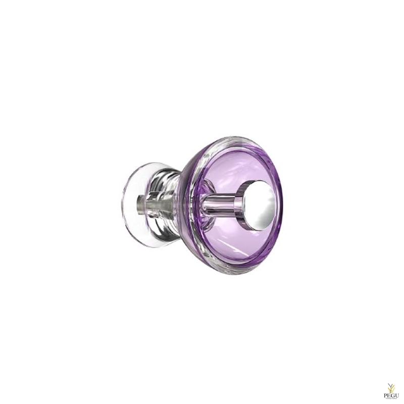 Крючёк BLOSSOM d55mm, фиолетовый