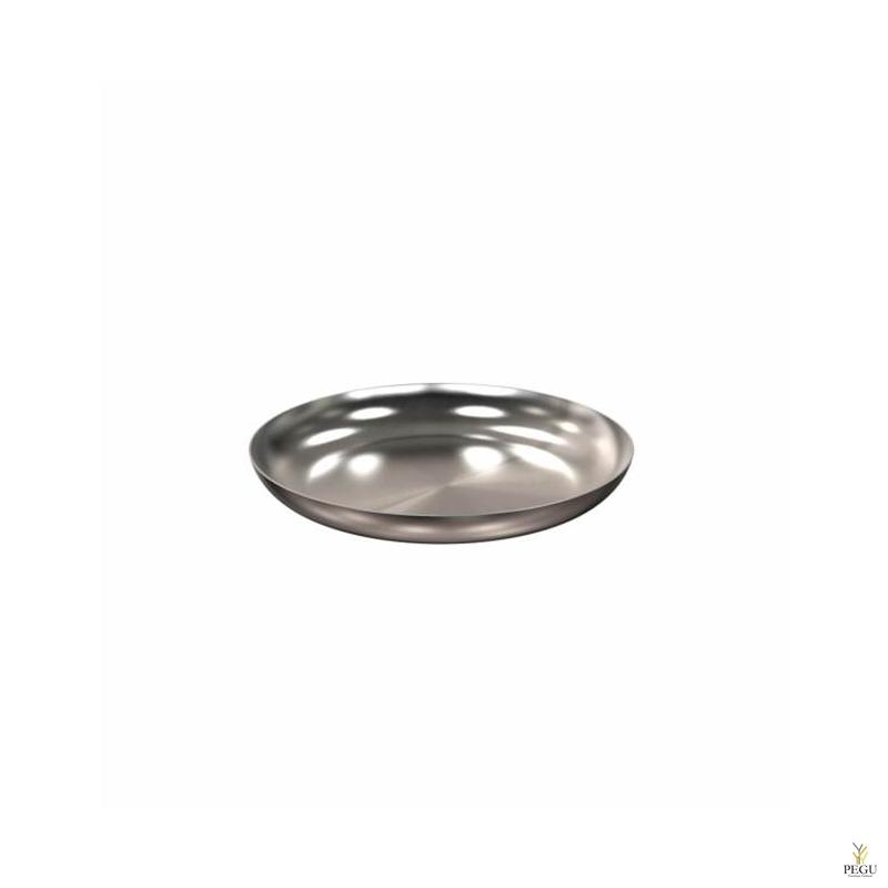 Подставка/ тарелочка декор Frost BOWL 170 , d171mm нержавеющая сталь матовая