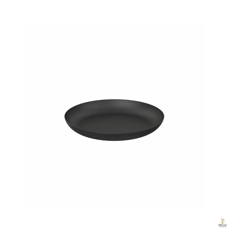 Подставка/ тарелочка декор Frost BOWL 170 , d171mm нержавеющая сталь чёрная