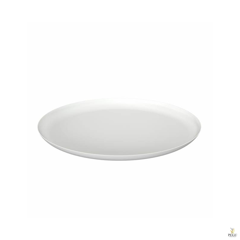 Подставка/тарелка декор Frost BOWL 270 , d268mm нержавеющая сталь, белая