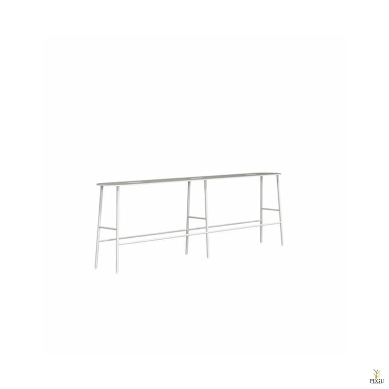 Frost скамейка-ночной столик BUKTO BENCH 1400 матовый белый