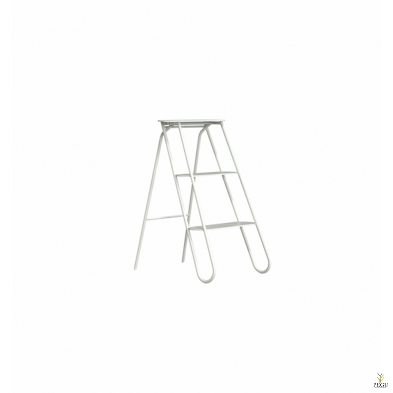 Treppreedel Frost STEP LADDER 3 astet valge alumiinium/teras