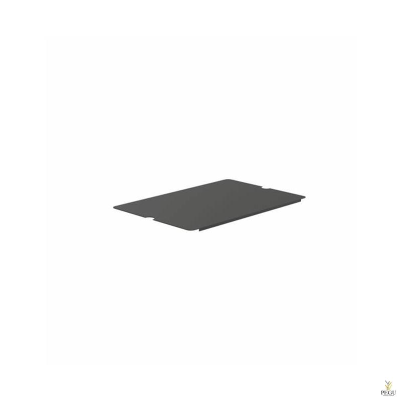 Alus plaat, BUKTO riiuli FROU6004 jaoks, 600mm must