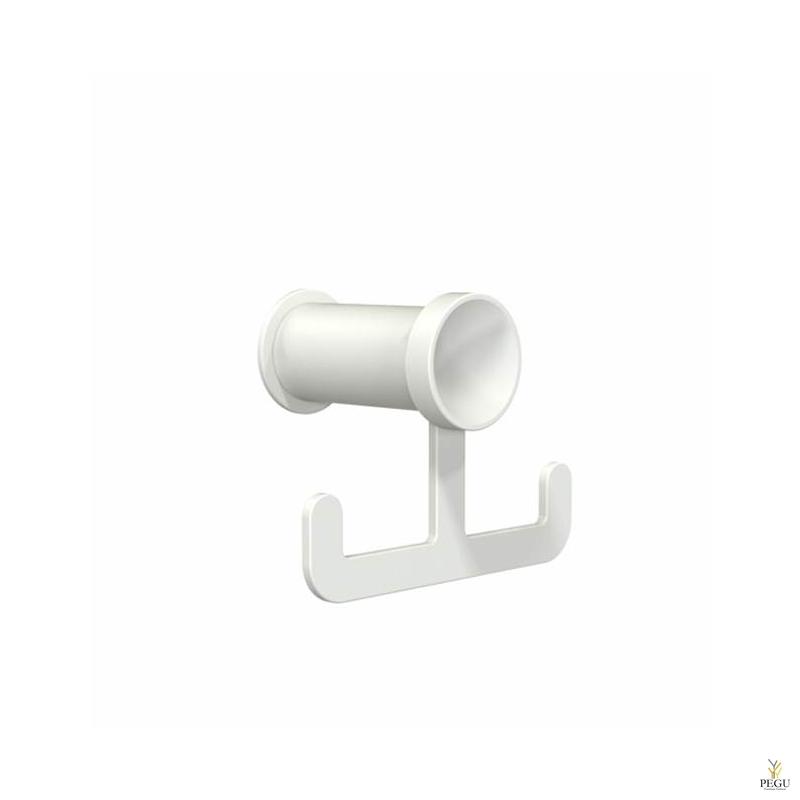 Frost BUKTO крючёк 6032 Н/Р сталь белый