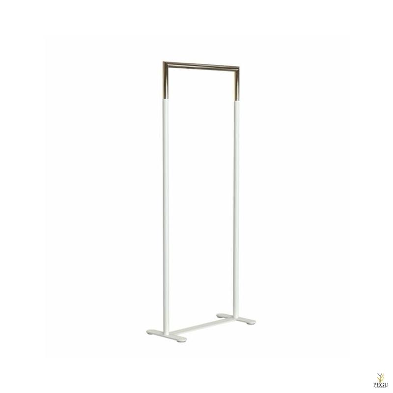 BUKTO вешалка для одежды 600mm белая-золото