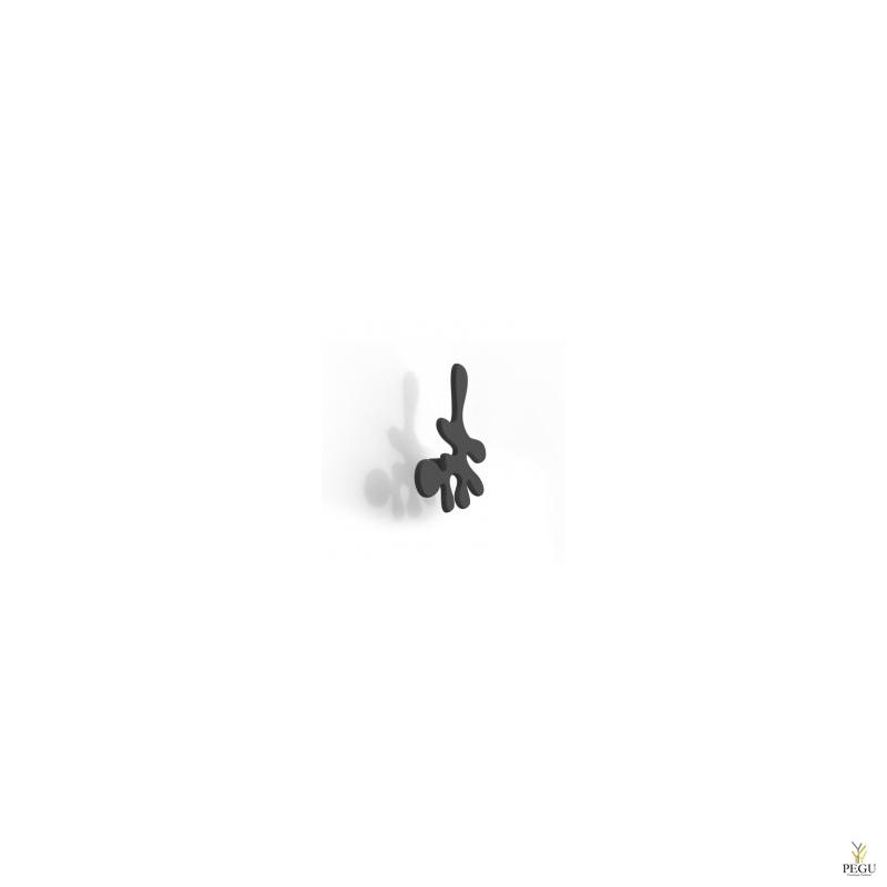 Настенный крючок MINI CAMOUFLAGE,  чёрный