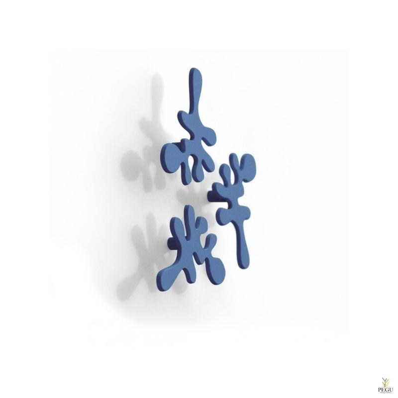 Настенный крючок MINI CAMOUFLAGE, 3 шт. Blue Sky