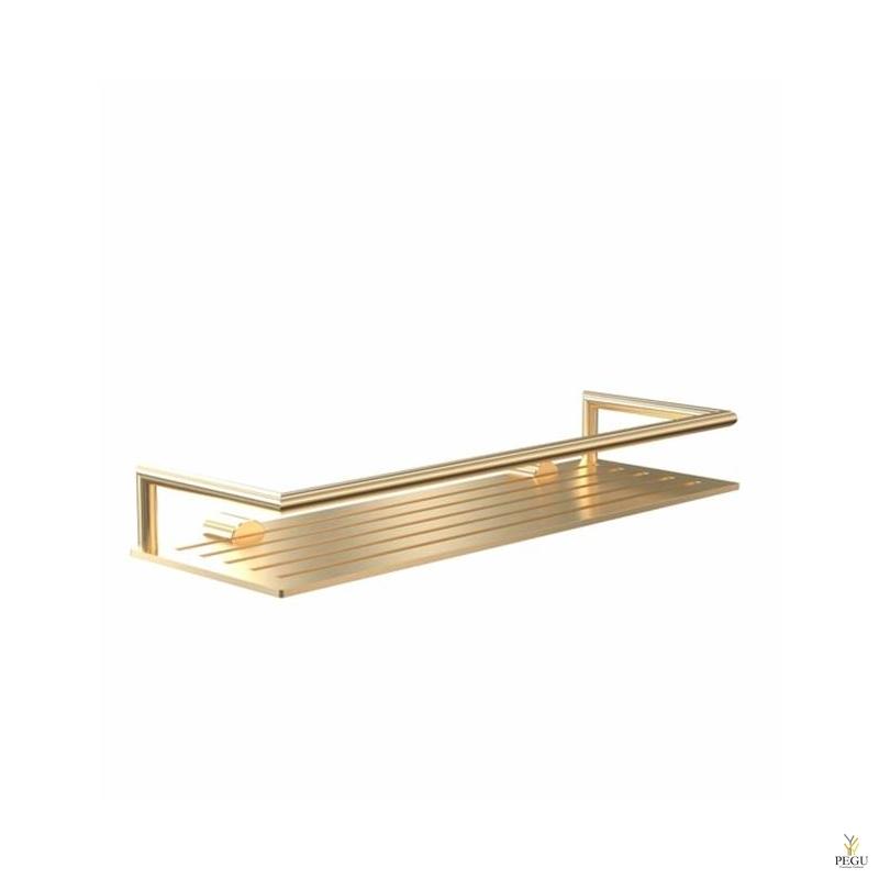 Полочка для шампуня 360x120mm. Nova 2 матовое золото