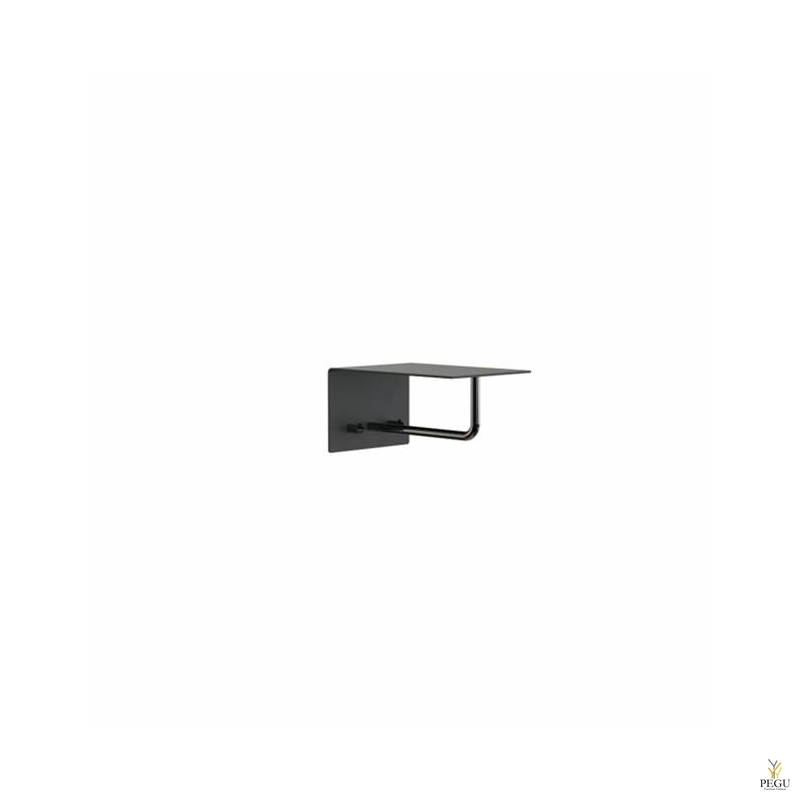 Garderoobiriiul UNU, nagid+riidepuu, 200mm, must-must