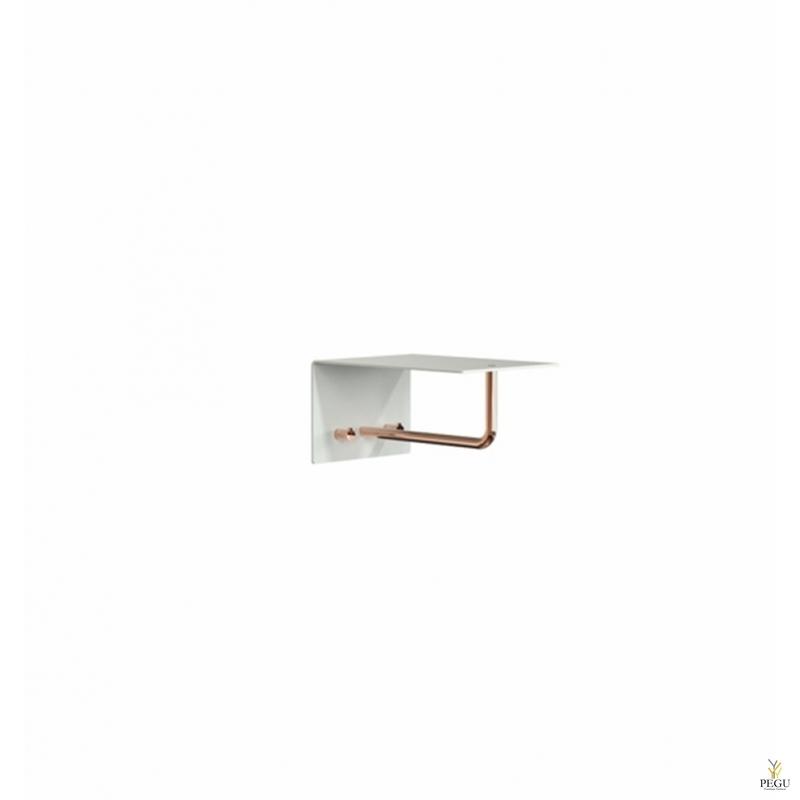 Garderoobiriiul UNU, nagid+riidepuu, 200mm, valge-vask