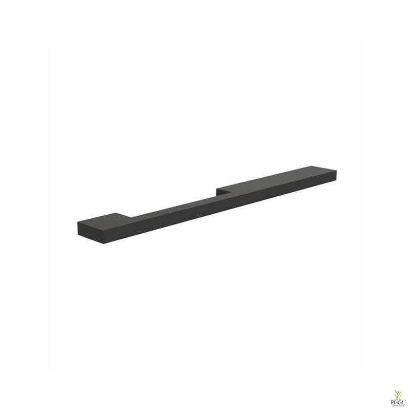 Мебельная ручка FROST ARKI+ ® 256 » ASYMMETRICAL чёрная