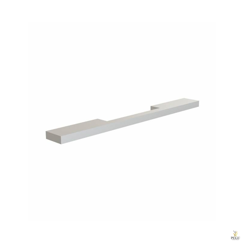 Мебельная ручка FROST ARKI+® 256, SYMMETRICAL анодированная