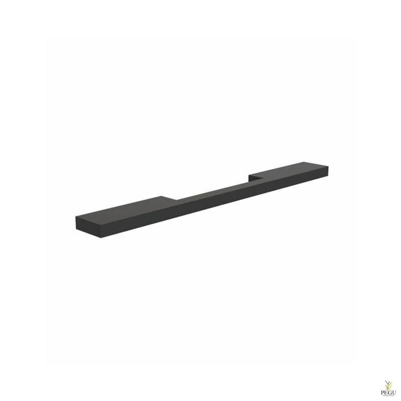 Мебельная ручка FROST ARKI+® 256, SYMMETRICAL чёрная