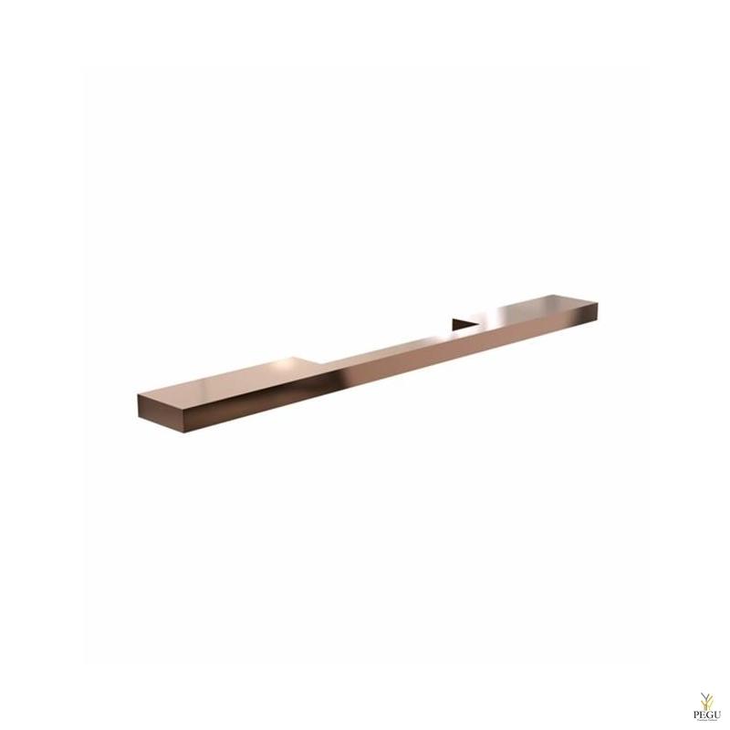 Мебельная ручка FROST ARKI+® 256, SYMMETRICAL медь