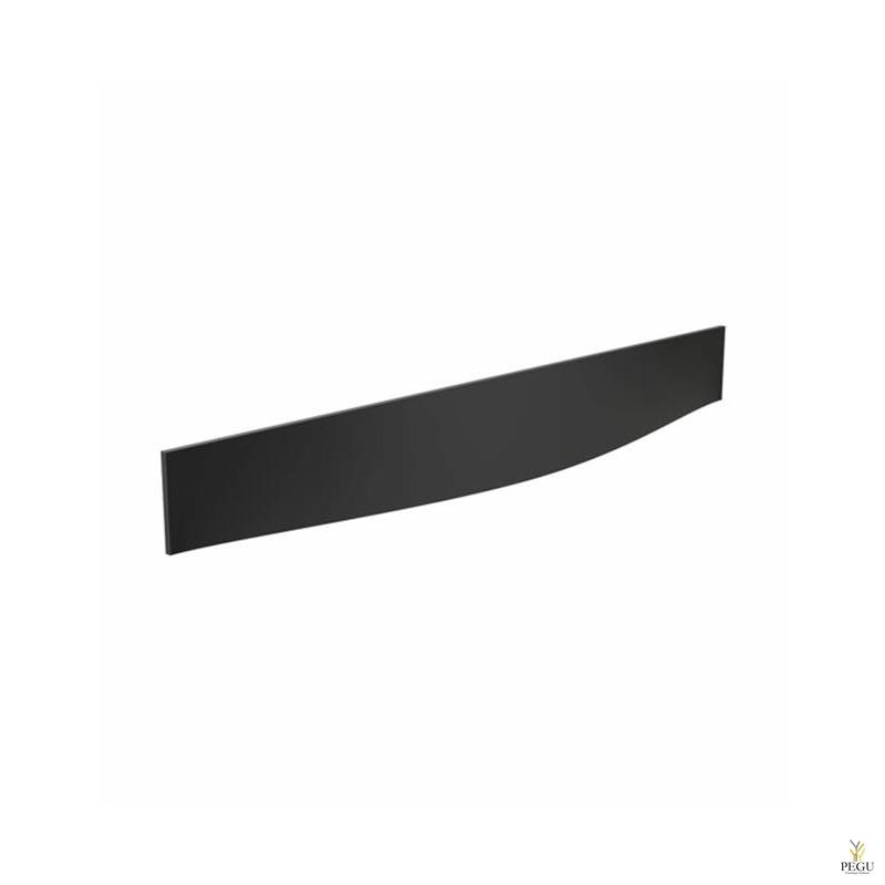 Мебельная ручка FROST Barcelona 192,  чёрная