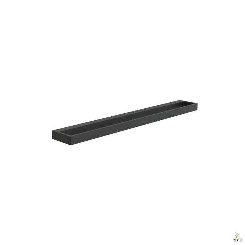 Мебельная ручка FROST Detail 224,  чёрная
