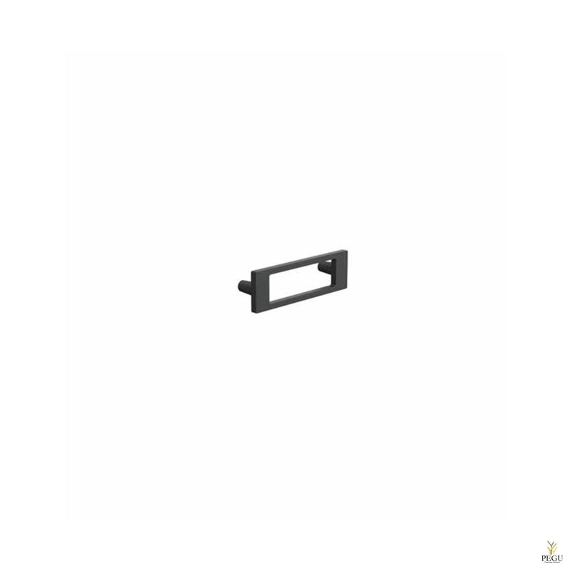 Мебельная ручкаFROST  MUST 64 чёрная