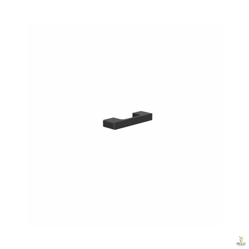Мебельная ручка FROST Paris 64 чёрная
