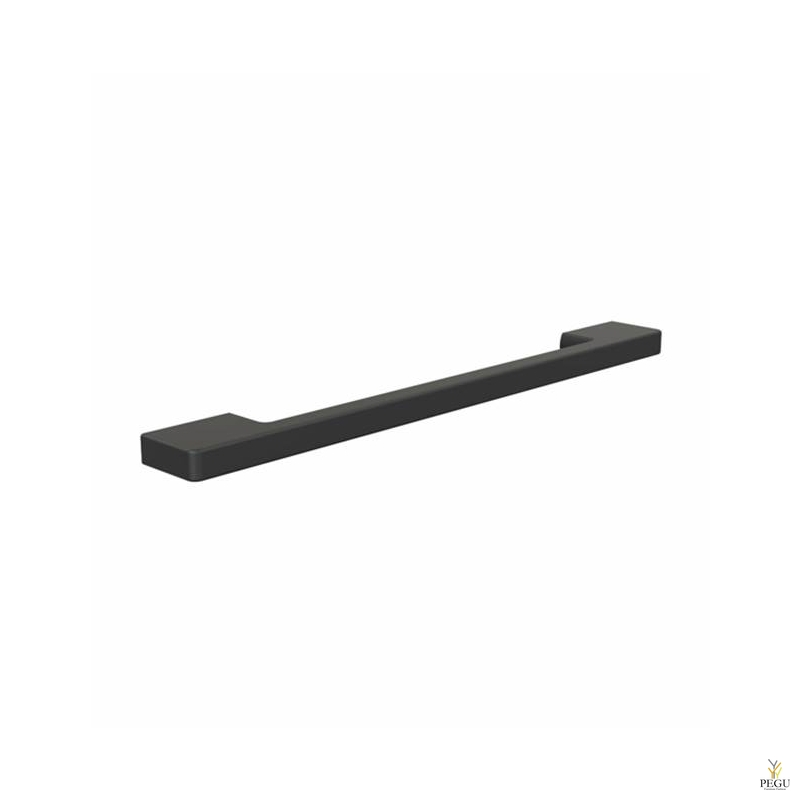 Мебельная ручка FROST POOL 224 чёрная