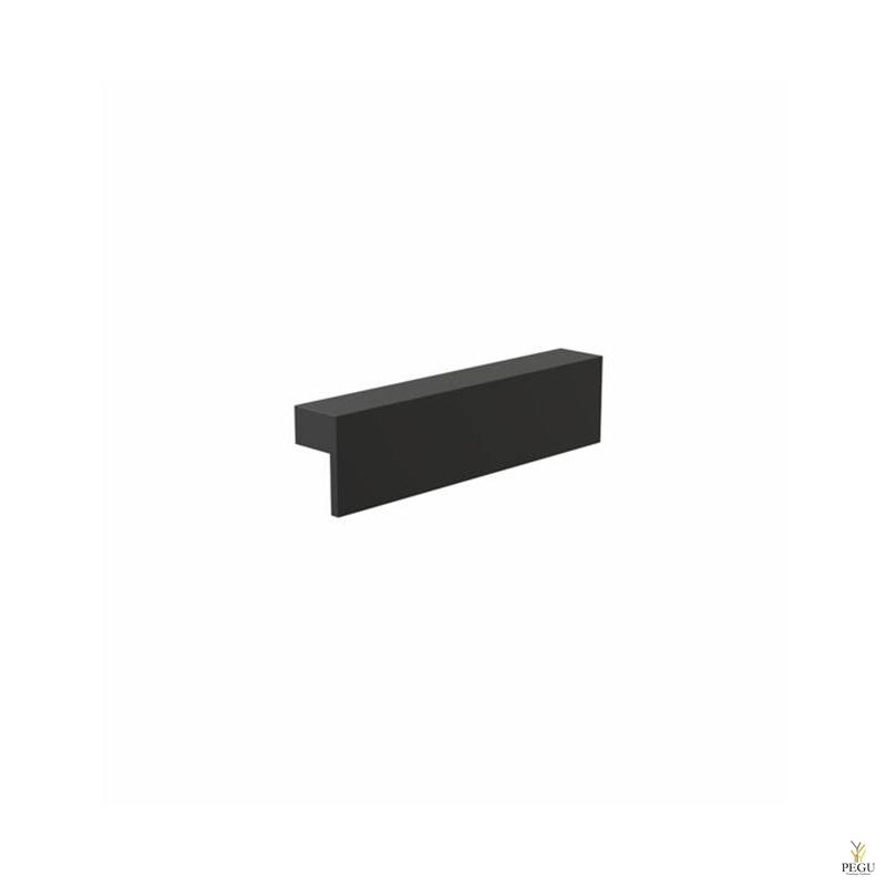 Mööbli käepide FROST Quadra 128,  must