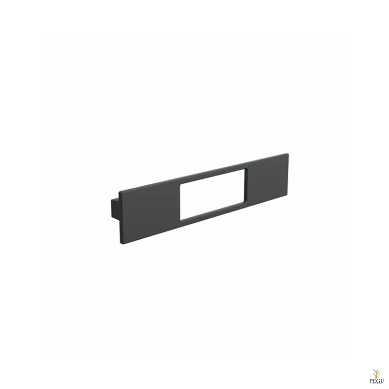 Мебельная ручка FROST Thema 160 чёрная