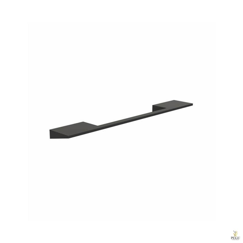 Мебельная ручка FROST Wall 160,  чёрная
