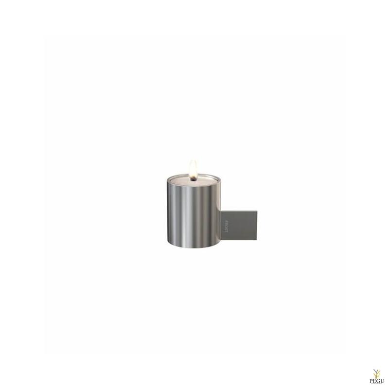 Küünlajalg d40xL74xH51mm, harjatud