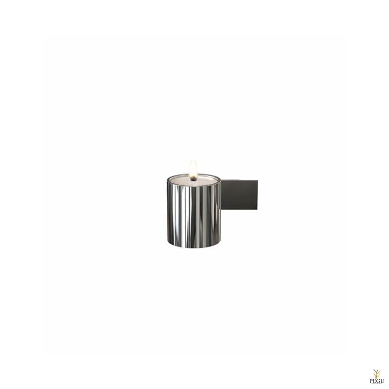 Чайный подсвечник d40xL74xH51mm,  полированный