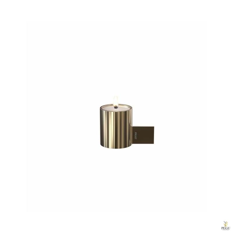 Чайный подсвечник d40xL74xH51mm,  золото