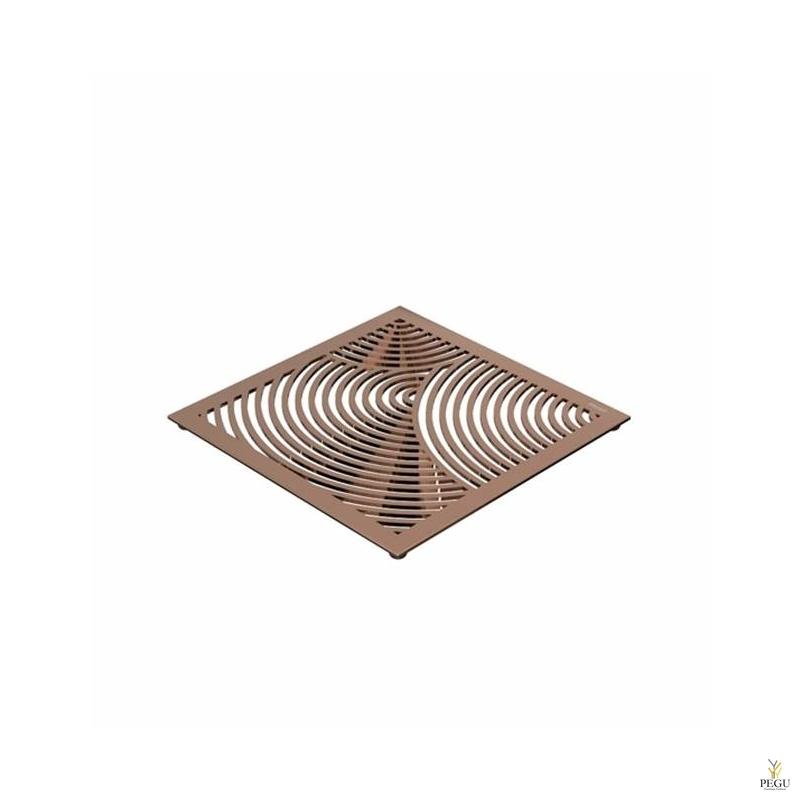 Kuumaalus TRIVET1, 150x150mm ümmargune muster, R-V teras vask