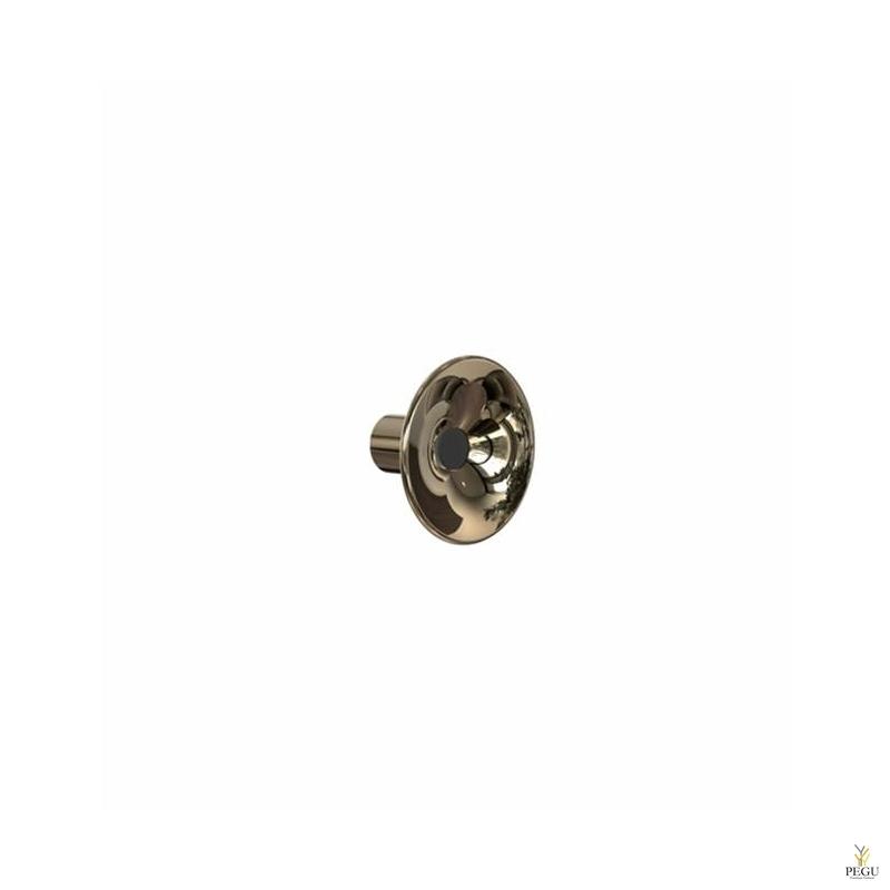 Крючёк LILU d80mm, золото/чёрный