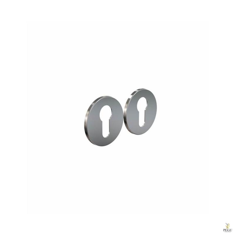 Накладка для сердечника дверного замка ELEMENT 3001 d50mm матовая