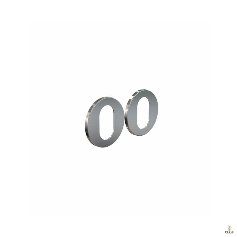 FROST Накладка для сердечника дверного замка ASSA  ELEMENT 3005 d50mm матовая