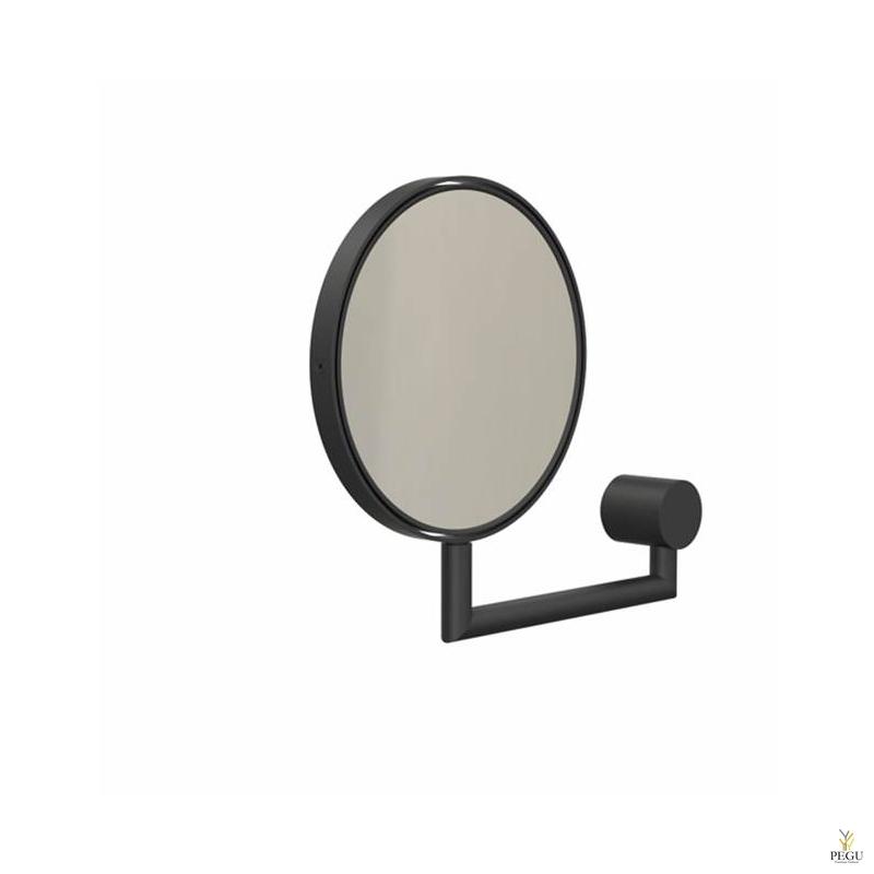 Зеркало настенное (x5), Nova 2 чёрное