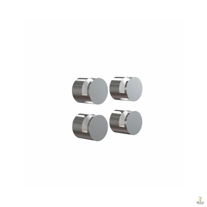 FROST комплект креплений для зеркала NOVA MIRROR HOLDER 1, 4 шт, полированный