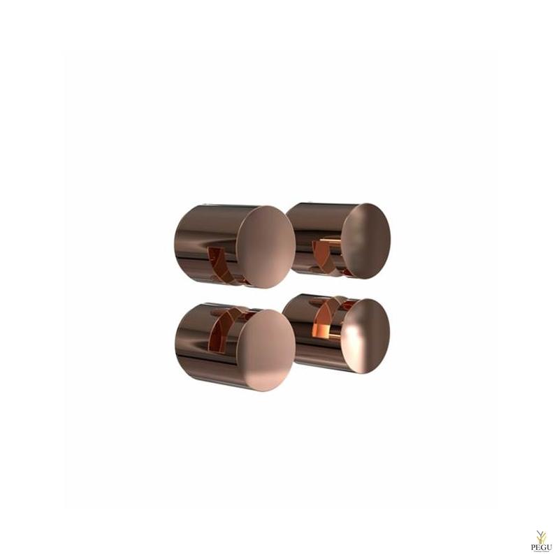 FROST Крепления для зеркала комплект NOVA2 HOLDER 3, 4 шт, медь