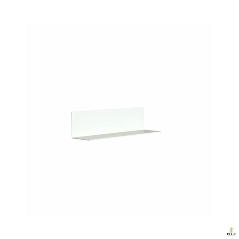 Полочка под зеркало L-600mm UNU ALU,  белая