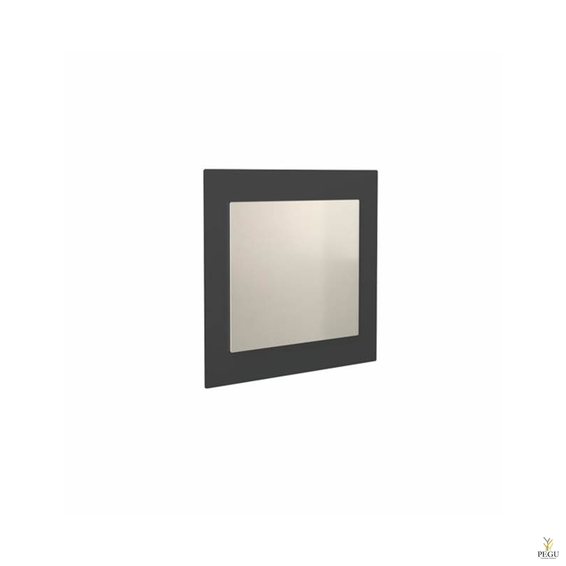 Peegel Frost UNU raamiga , 500x600 must