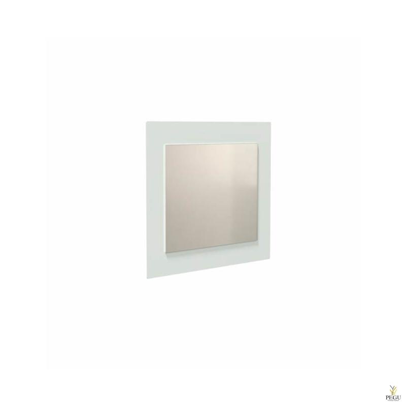 Peegel Frost UNU raamiga , 500x600 valge