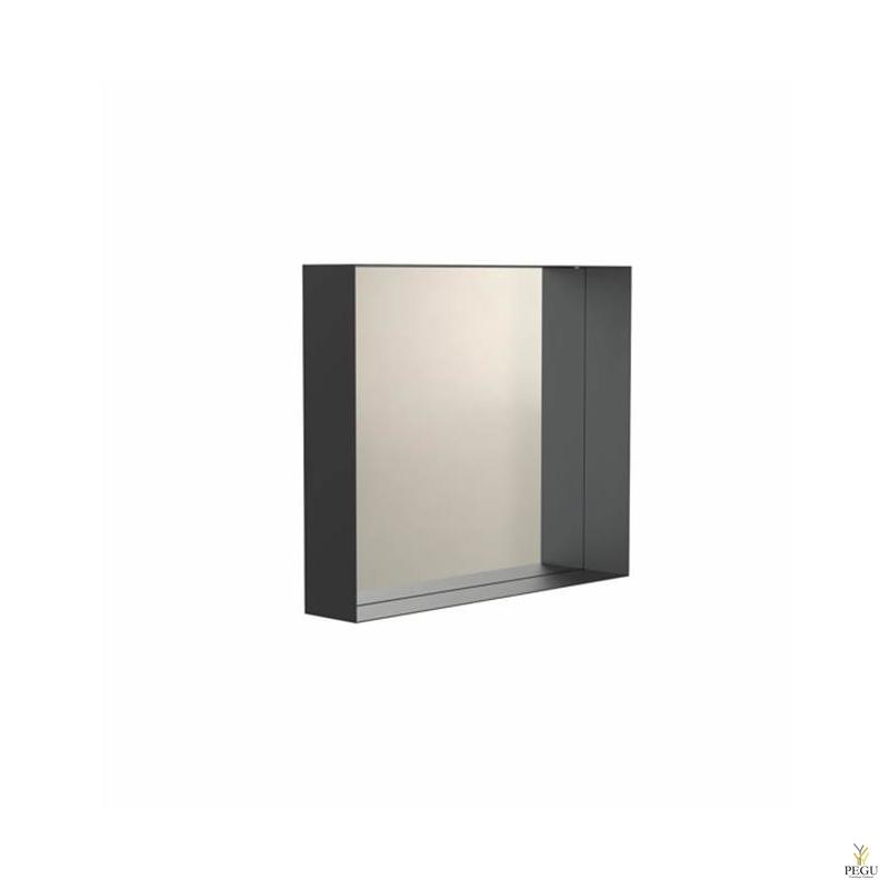Peegel Frost UNU raamiga , 500x500 must