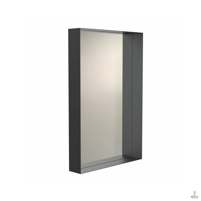 Peegel Frost UNU raamiga , 900x600 must